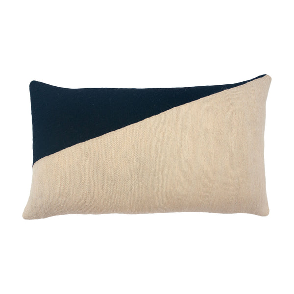 Leah Singh MARIANNE TRIANGLE PILLOW - BLACK Pillow Leah Singh