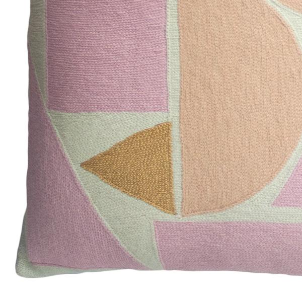 Leah Singh Melanie Floor Pillow - Pink and Blush Home Decor Leah Singh