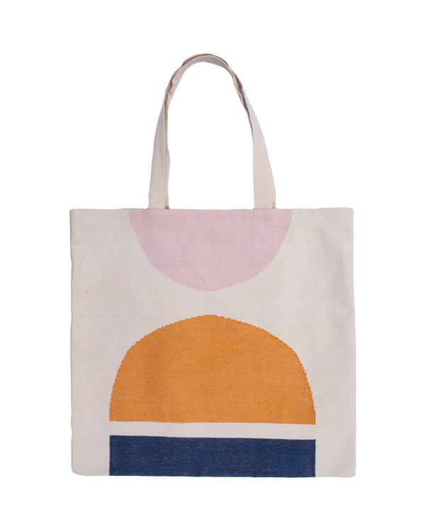 Leah Singh NORAH SEMI CIRCLE TOTE BAG Pillow Leah Singh