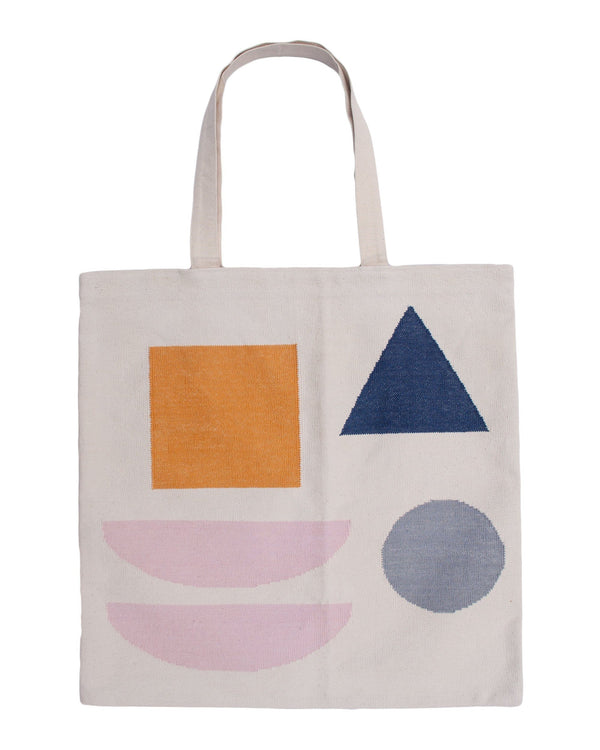 Leah Singh NORAH SHAPES TOTE BAG Pillow Leah Singh