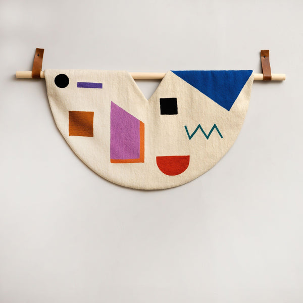 Leah Singh SHAPES TAPESTRY Tapestry Leah Singh
