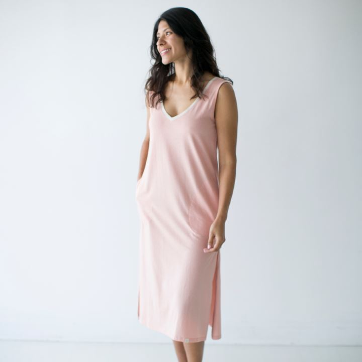 Leena & Lu Lima Long Dress - Shell DRESS Leena & Lu