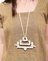 Lesh Mitla Necklace Made Trade-5233644011583
