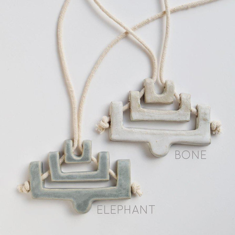 Lesh Mitla Necklace Made Trade Bone