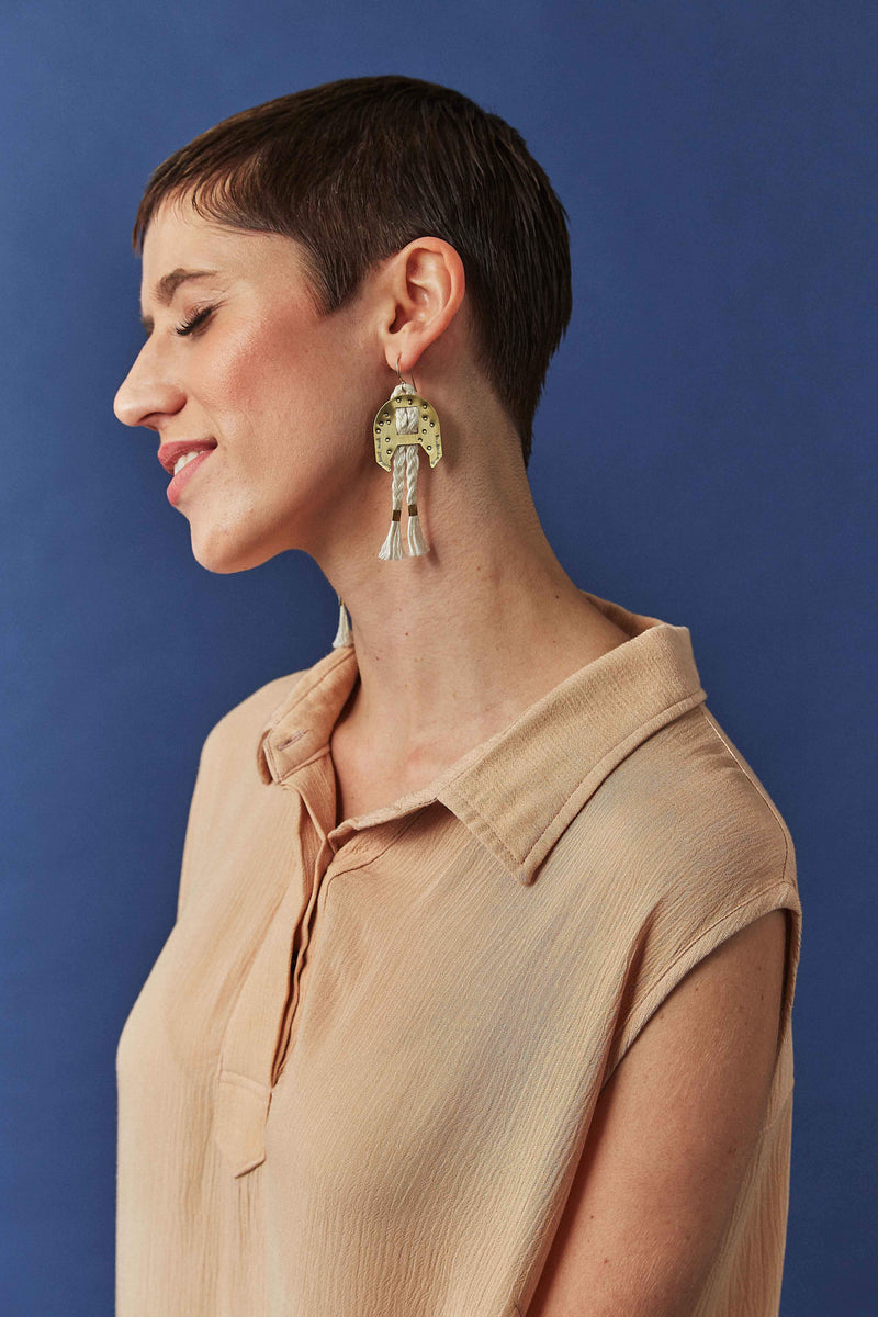 Lunasol PIMA Earrings-small Lunasol