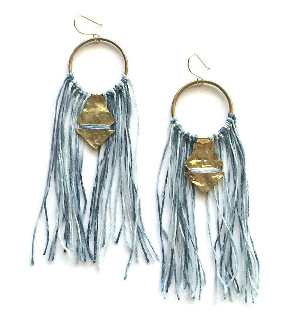 Lunasol TEMARA Earrings - large Lunasol