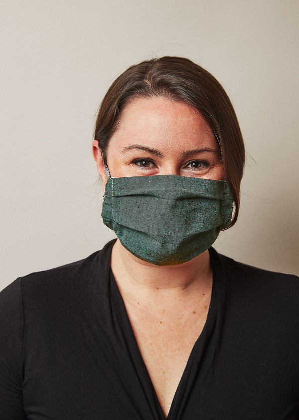 Made Trade Recycled Hemp and Organic Cotton Reusable Face Mask Made Trade