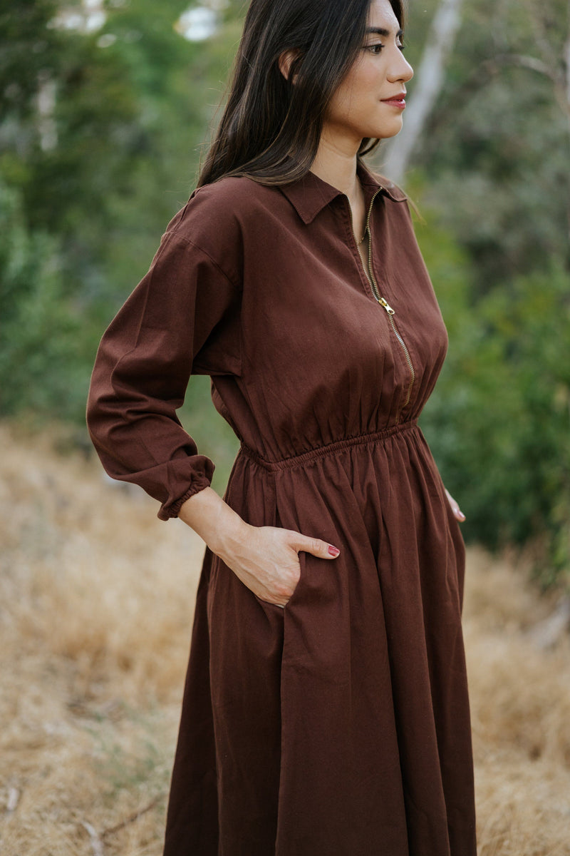 Maison Midi Dress - Hickory DRESS Mien