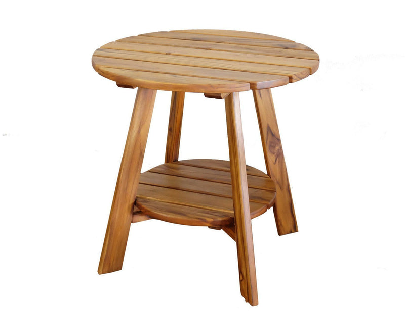 Masaya & Co. Adirondack Side Table - Teak Outdoor Side Table Masaya & Co.