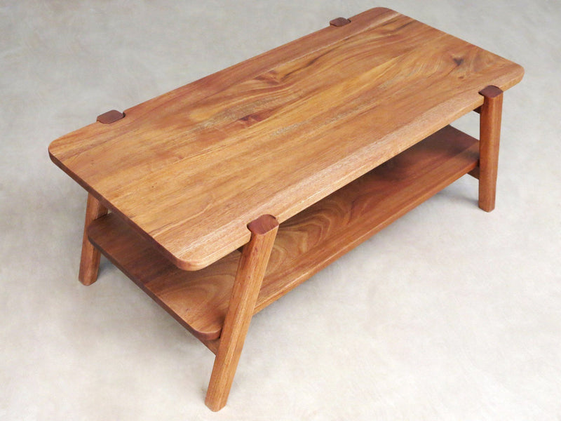 Masaya & Co. Apanas Coffee Table Coffee Table: In-Stock Masaya & Co. Royal Mahogany