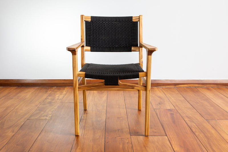 Masaya & Co. Chontales Arm Chair, Solid Manila Dining Chair Masaya & Co.