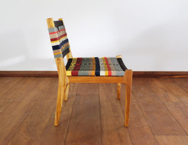 Masaya & Co. Chontales Dining Chair, San Geronimo Pattern Dining Chair Masaya & Co.