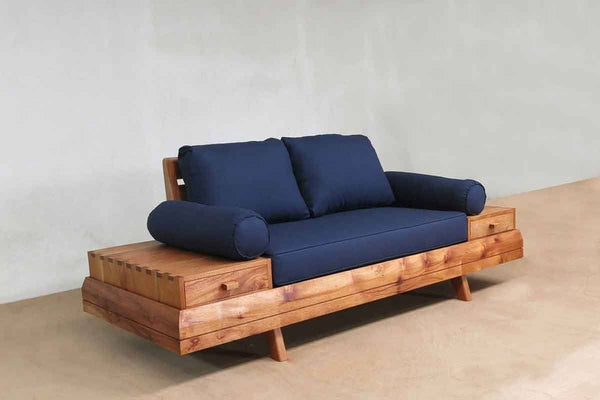 Masaya & Co. Floating Love Seat, Navy Blue Love Seat Masaya & Co.