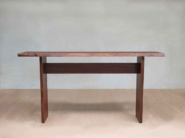 Masaya & Co. Gavilana Hall Table Live Edge Sofa Table Masaya & Co.