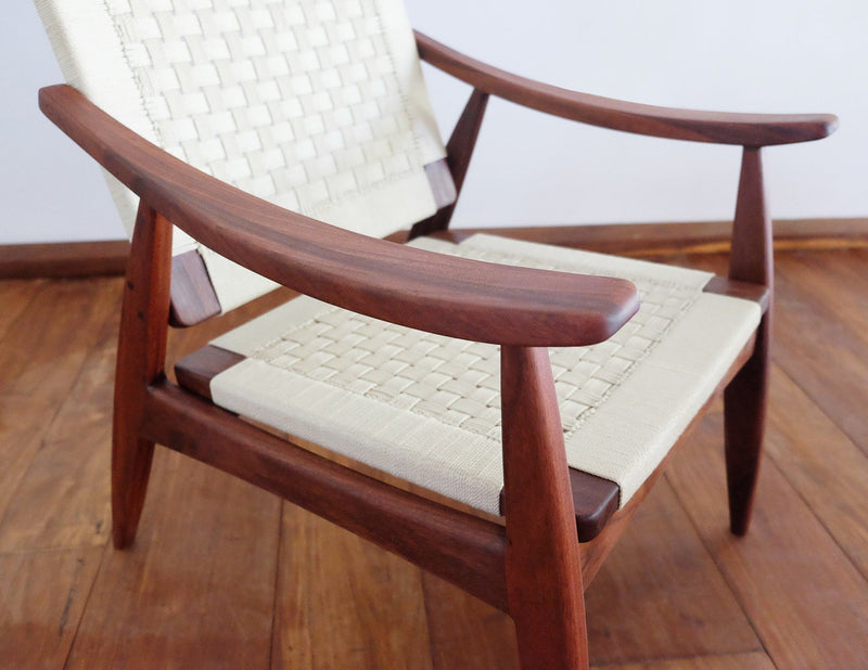 Masaya & Co. Izapa Arm Chair, Solid Manila Lounge Chair Masaya & Co.