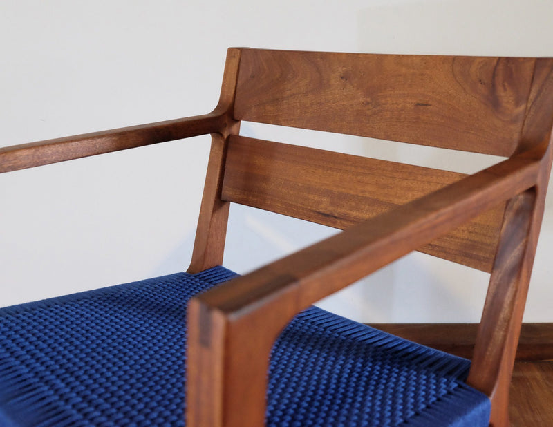 Masaya & Co. Managua Arm Chair, Solid Manila Lounge Chair: In-Stock Masaya & Co.