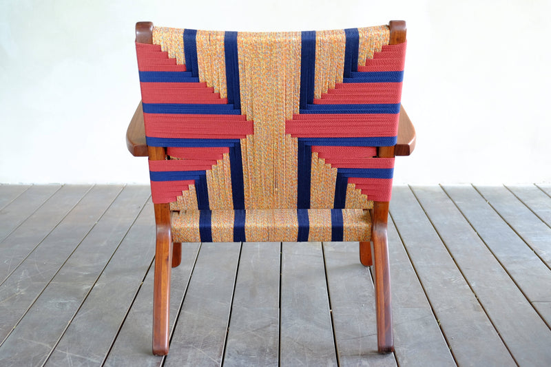Masaya & Co. Masaya Arm Chair, Momotombo Pattern Lounge Chair Masaya & Co.