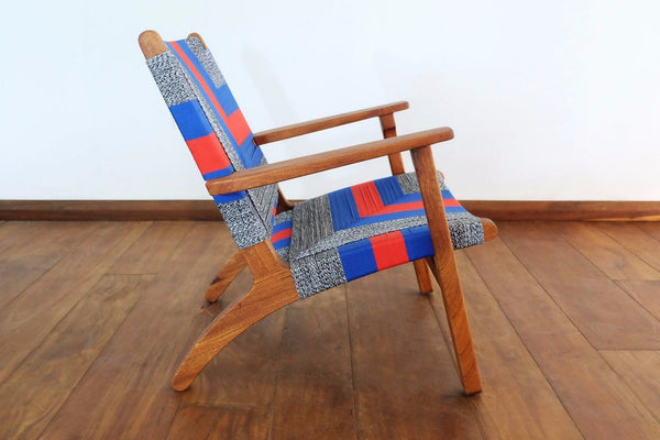 Masaya & Co. Masaya Arm Chair, Ometepe Pattern Lounge Chair Masaya & Co.