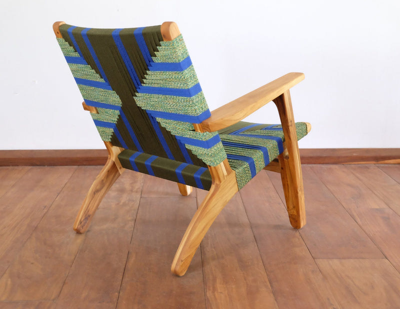 Masaya & Co. Masaya Arm Chair, Pattern Manila Lounge Chair Masaya & Co.