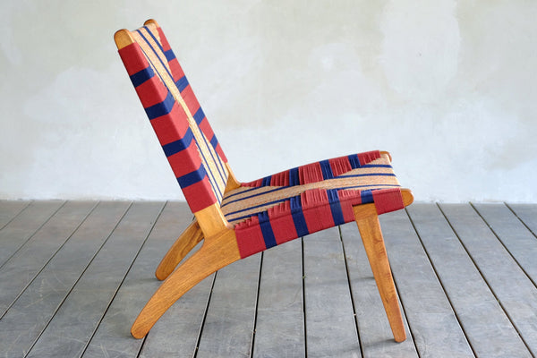 Masaya & Co. Masaya Lounge Chair, Momotombo Pattern Lounge Chair: In-Stock Masaya & Co.
