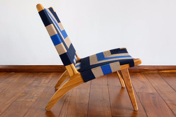 Masaya & Co. Masaya Lounge Chair, Patria Pattern Lounge Chair: In-Stock Masaya & Co.