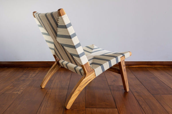 Masaya & Co. Masaya Lounge Chair, Ruben Pattern Lounge Chair: In-Stock Masaya & Co.