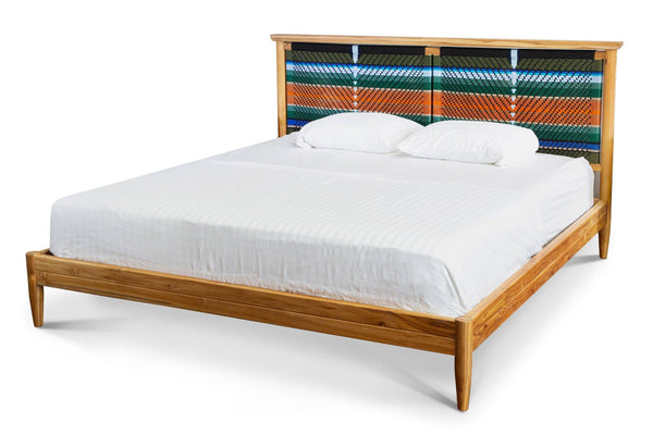 Masaya & Co. Monimbo Bed, Mot Mot Pattern Bed Masaya & Co.