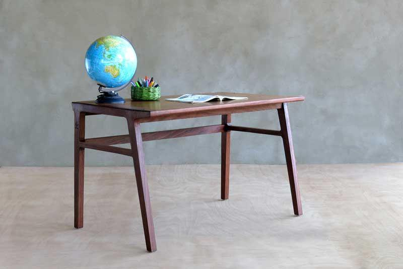 Masaya & Co. Nazarel Desk Wood Desk Masaya & Co. Rosita Walnut