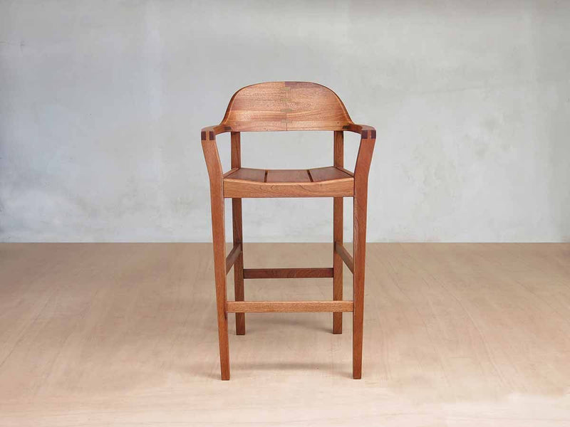 Masaya & Co. Xiloa Barstool, Royal Mahogany Barstool Masaya & Co.
