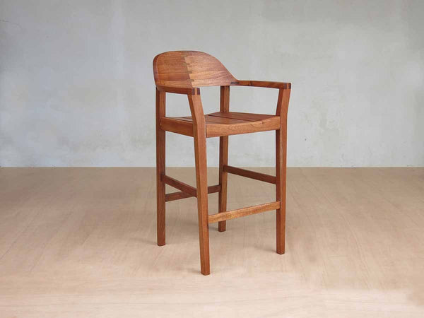 Masaya & Co. Xiloa Barstool, Royal Mahogany Barstool Masaya & Co. Royal Mahogany