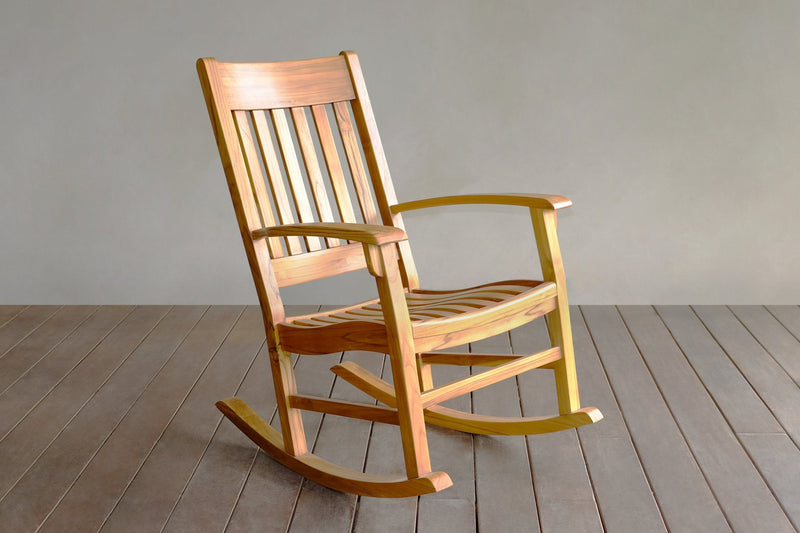 Masaya & Co. Zelaya Outdoor Rocking Chair Rocking Chair Masaya & Co. Teak (Outdoor/Indoor)