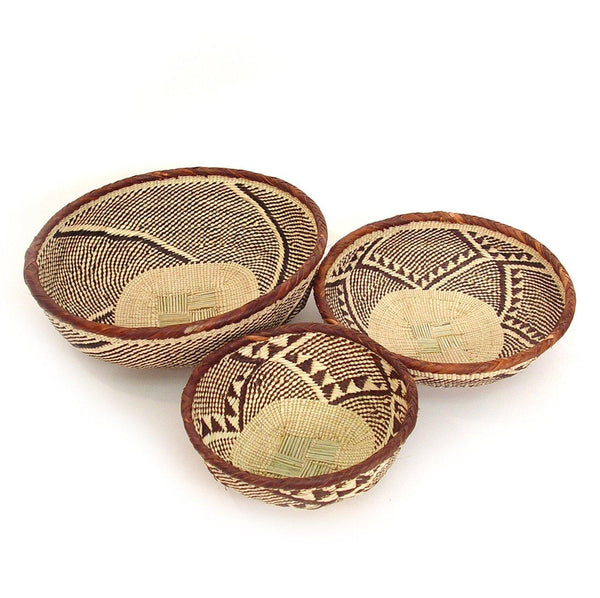 Mbare Tonga Basket Bowls Home Decor Mbare