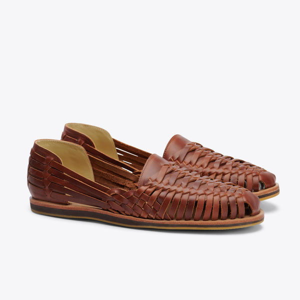 Men's Huarache Sandal - Brandy Shoes Nisolo