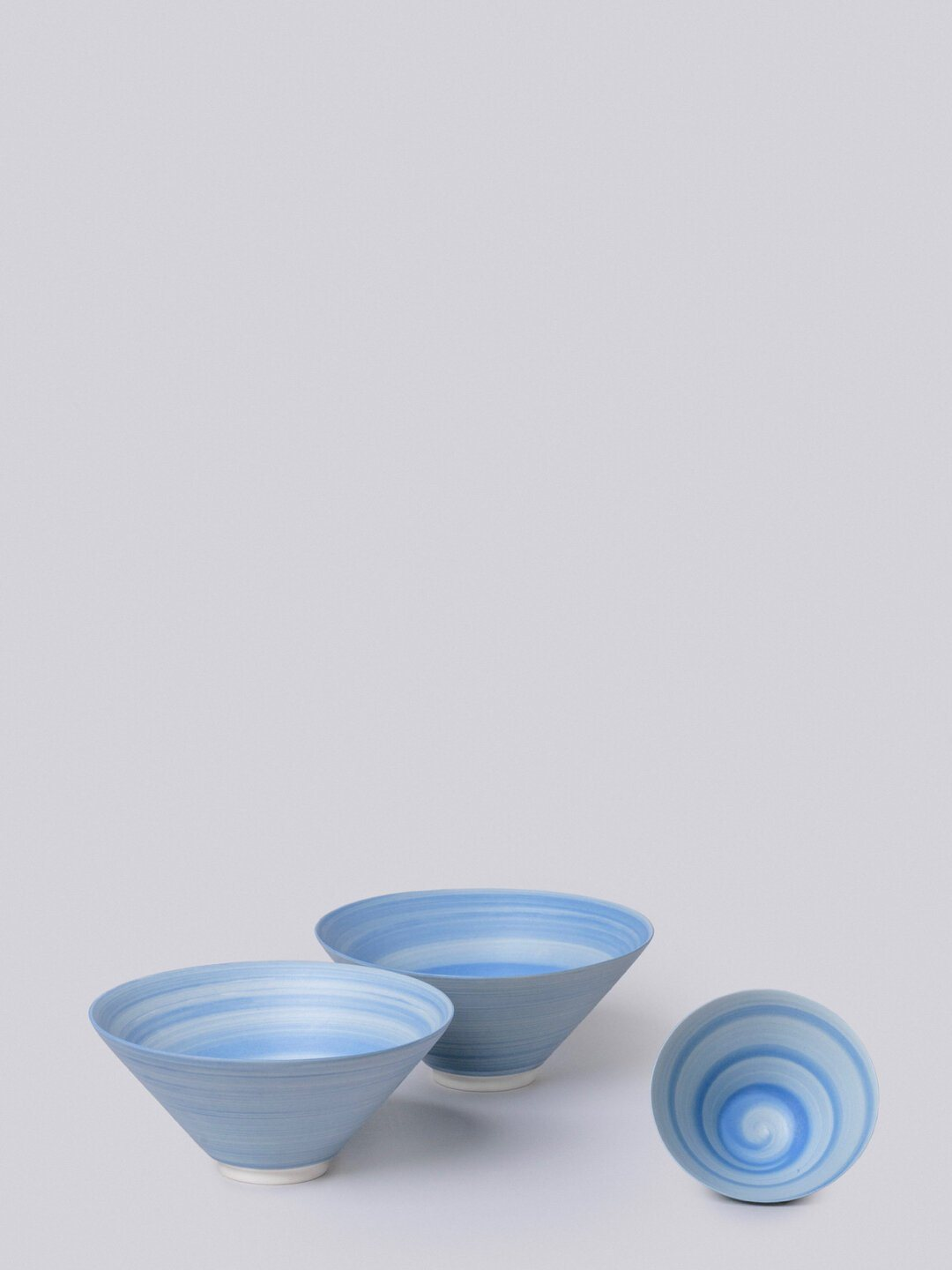 Middle Kingdom Conical Porcelain Bowl - Cornflower Kitchen and Dining Middle Kingdom