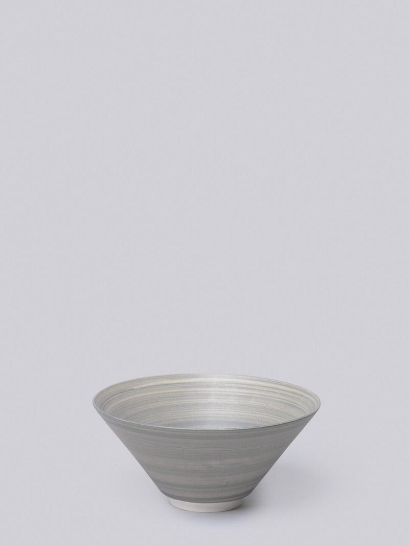 Middle Kingdom Conical Porcelain Bowl - Slate Kitchen and Dining Middle Kingdom