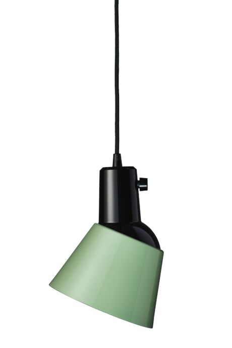 Midgard K831 Pendant Light Midgard Green Enamelled