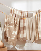 Minna Abstract Throw Oat Blanket Minna-5531390574655