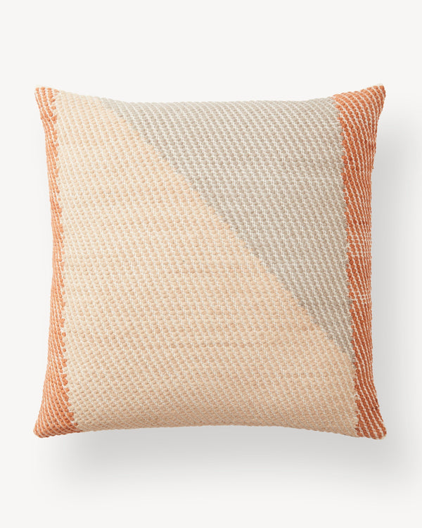 Minna Angle Pillow - Terracotta Pillows Minna