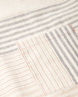 Minna Apricot Stripe Apron Kitchen Textiles Minna-5011065831487