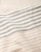 Minna Apricot Stripe Napkins Kitchen Textiles Minna-5011076087871