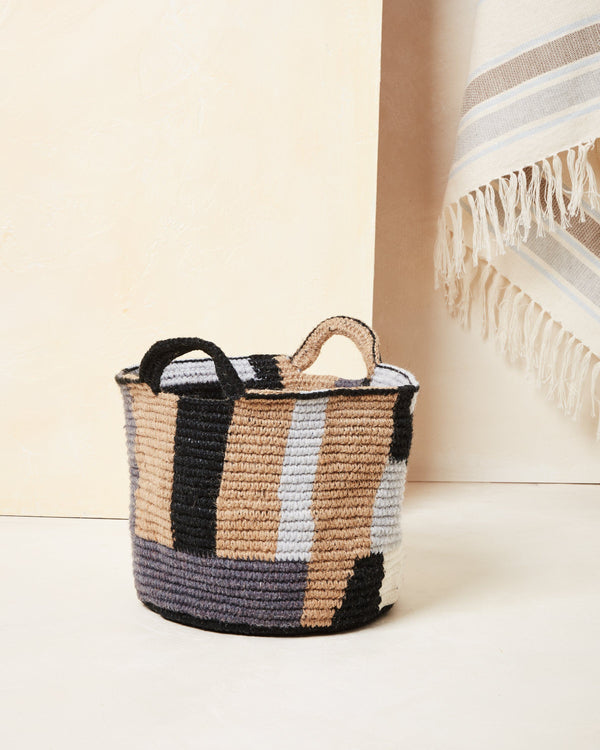 Minna Blocks Basket - Medium Basket Minna