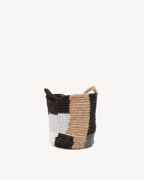 Minna Blocks Basket - Small Basket Minna