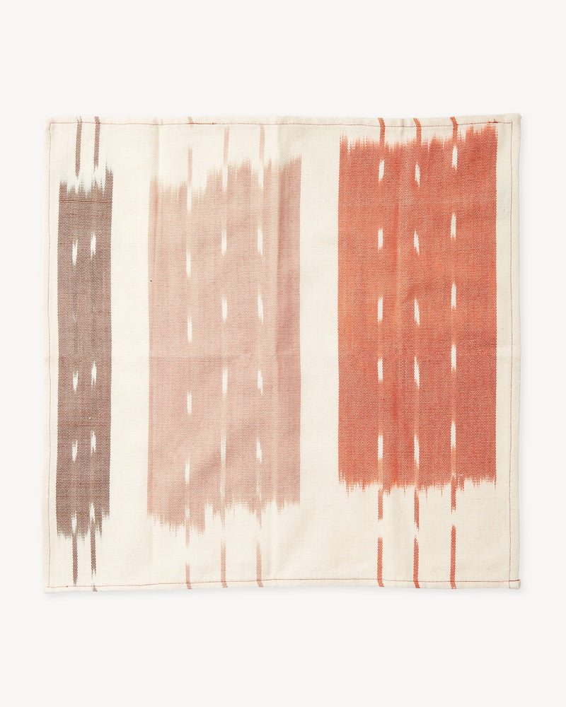 Minna Ikat Napkins Rust Kitchen Textiles Minna