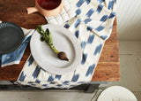 Minna Ikat Runner Indigo Kitchen Textiles Minna-5244380512319