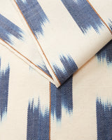 Minna Ikat Runner Indigo Kitchen Textiles Minna-5244279685183