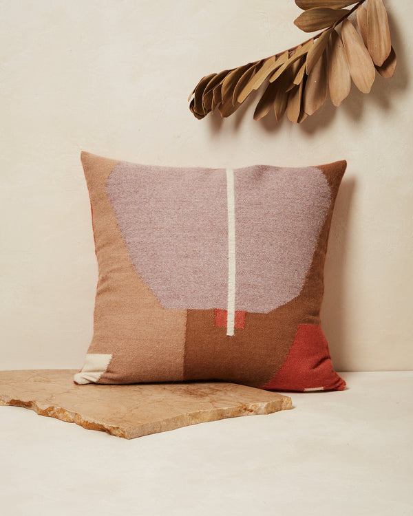 Minna Julie Pillow - Terracotta Pillows Minna