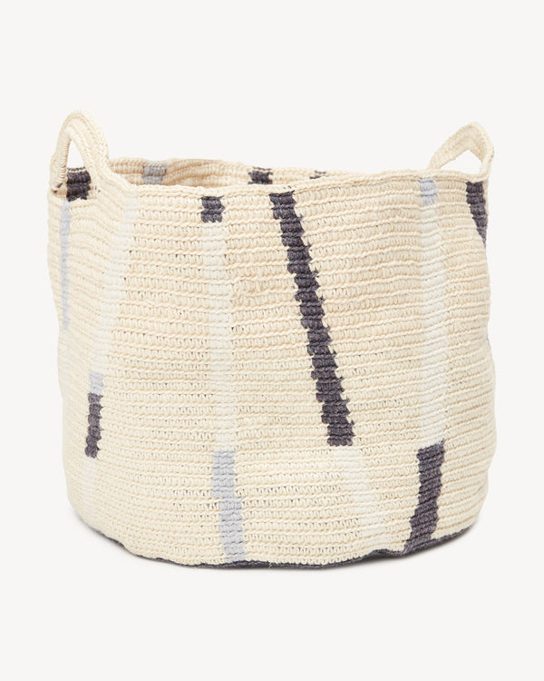 Minna Lines Basket - Large Basket Minna