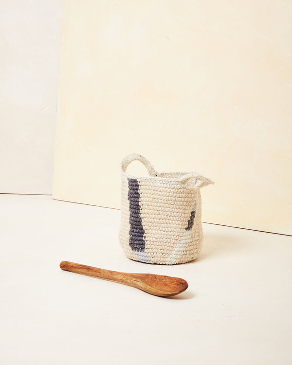 Minna Lines Basket - Small Basket Minna