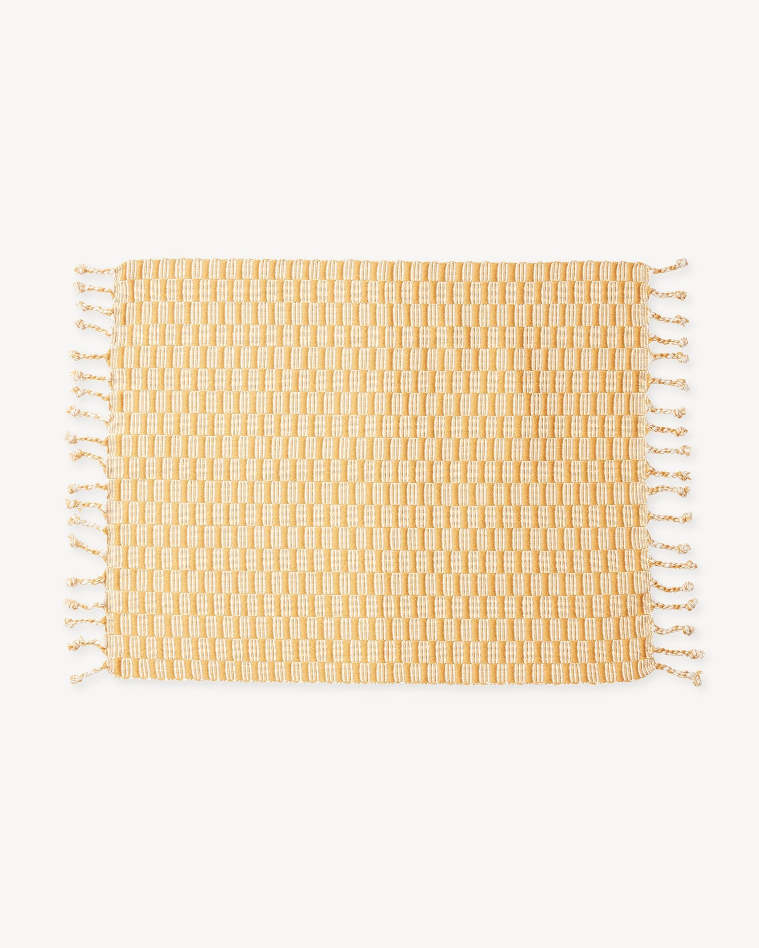 Minna Panalito Placemat Gold Kitchen Textiles Minna