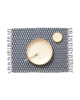 Minna Panalito Placemat Indigo Kitchen Textiles Minna-5010520997951